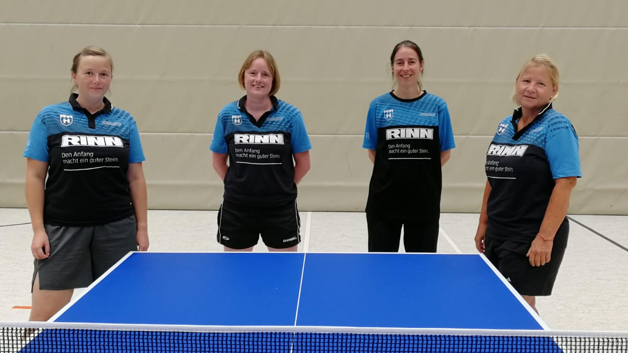 Teamfoto TSF Heuchelheim 2 Frauen